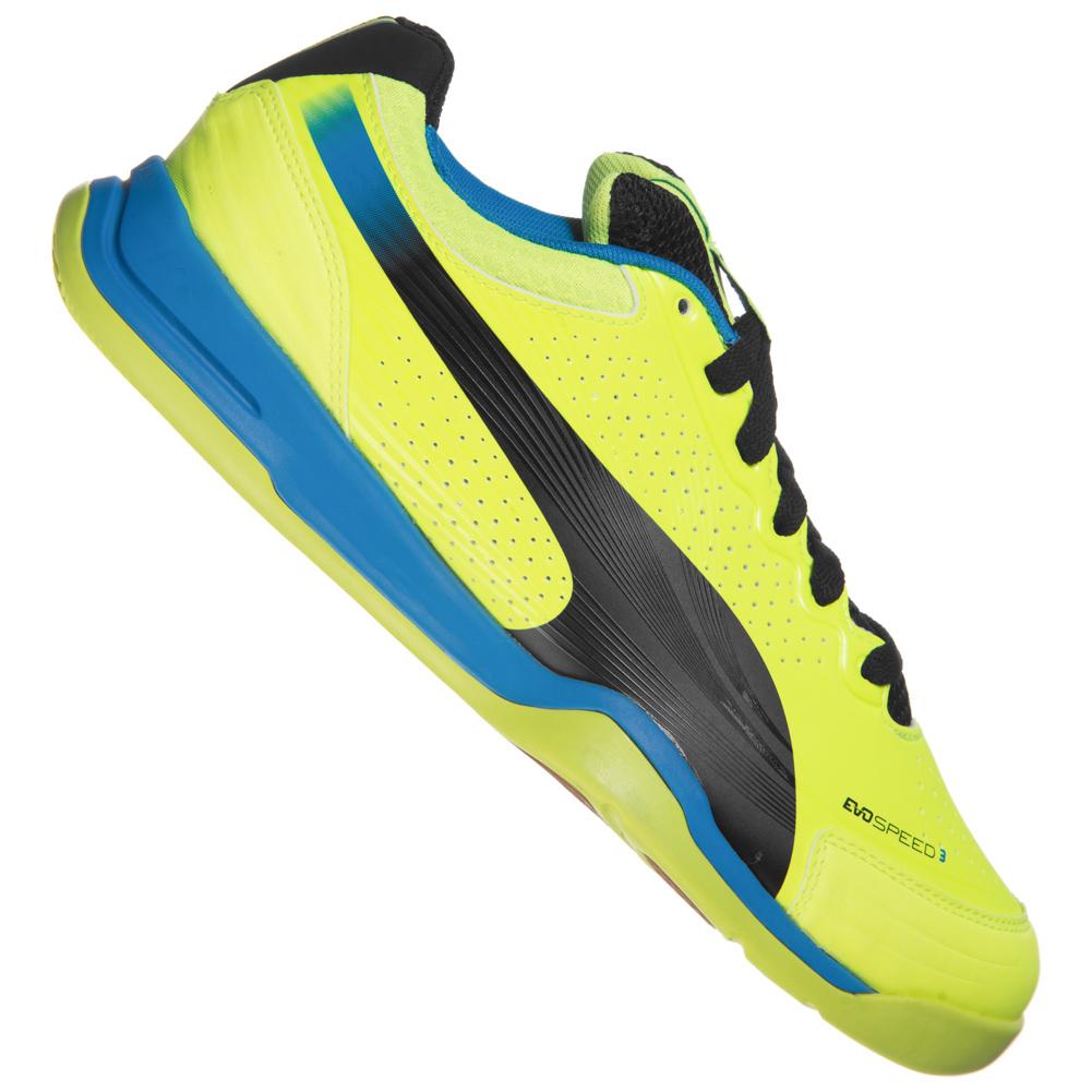 Chaussures de Sport en Salle Puma Evospeed Indoor 3.2 102851-02 pour Hommes - Tailles au choix