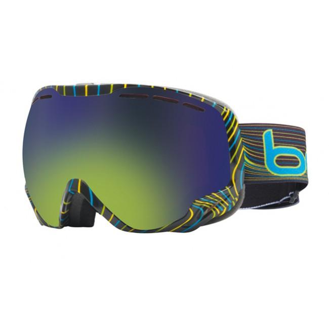 Masque Polyvalent de Ski / Snowboard Bollé Emperor Green Emerald - Catégorie 2