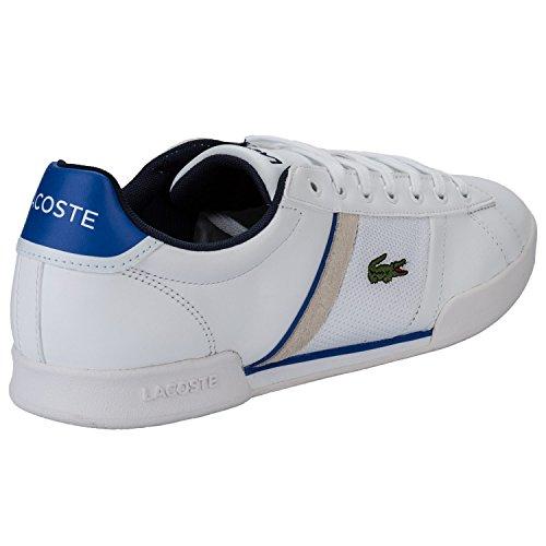 Chaussures Lacoste Deston Blanc pour Hommes - Tailles : 39.5 ou 40.5 (Vendeur Tiers)