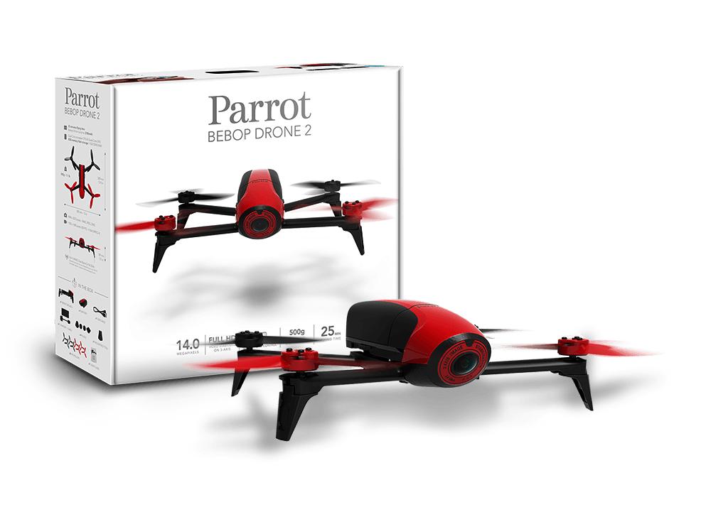 Drone Parrot Bebop 2 - rouge