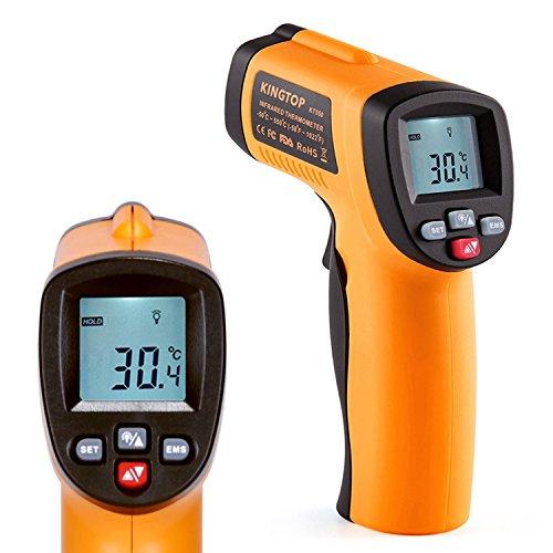 Thermomètre Infrarouge sans Contact Laser IR Numérique avec Ecran LCD Rétroéclairé (vendeur tiers)