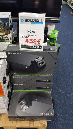 Console Microsoft Xbox One X - Saturn Luxembourg ville (Frontaliers Luxembourg)