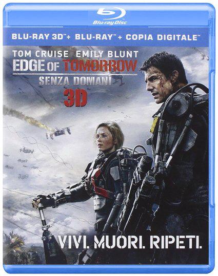 (Blu-ray + Blu-ray 3D) : Edge Of Tomorrow