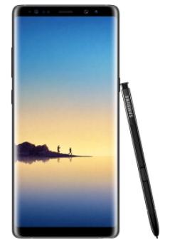 """Sélection de smartphone en promotion - Ex : Smartphone 6.3"""" Samsung Galaxy Note 8 - 6 Go RAM, 64 Go ROM (via ODR 100€)"""