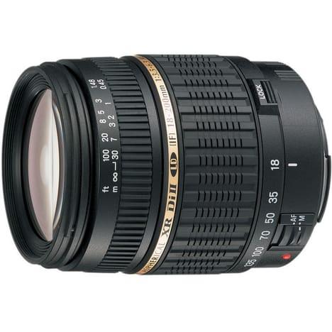 Objectif TAMRON AF18-200mm f/3 5-6 3 Di II LD Asphérique pour Canon EOS (via 71.50 sur la carte fidélité)