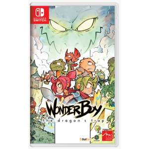 Wonder Boy: The Dragon's Trap sur Switch
