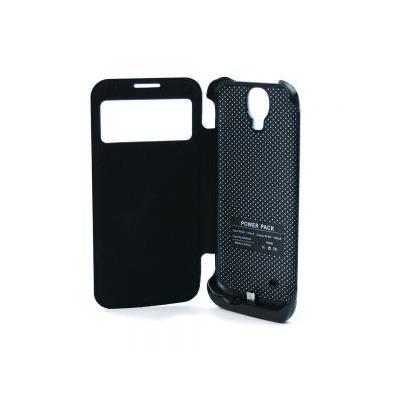 Coque de protection à rabat avec batterie intégrée pour smartphone Samsung Galaxy S4 - 3500 mAh (frais de port inclus, vendeur tiers)