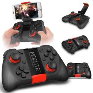 Manette de jeu sans-fil Mocute 050 - Bluetooth, pour Android, iOS et PC