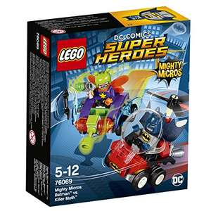 Sélection de jouets Lego DC Comics Super Heroes en promotion Mighty Micros en promotion - Ex : Batman vs. Killer Moth (76069)