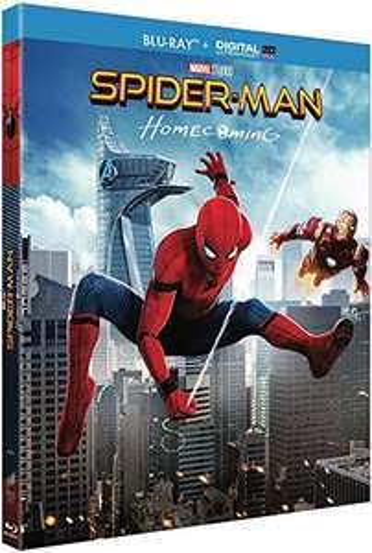 Blu-ray Spider-Man Homecoming (9.99€ en DVD)