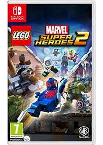 Jeu Lego Marvel Super Heroes 2 sur Nintendo Switch