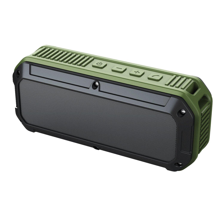 Enceinte Bluetooth Aukey - étanche IP64, vert foncé (vendeur tiers)