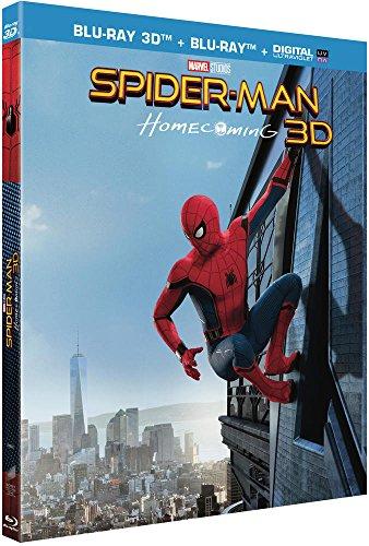 Spider-Man Homecoming Blu-Ray 3D + 2D + UV [Blu-ray 3D + Blu-ray + Digital UltraViolet]
