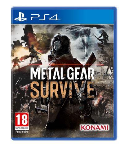 [Précommande - Adhérents] Metal Gear Survive PS4, Xbox One + 20€ offerts pour les adhérents
