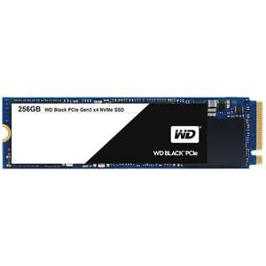 SSD interne M.2 NVMe WD Black (TLC) - 256 Go