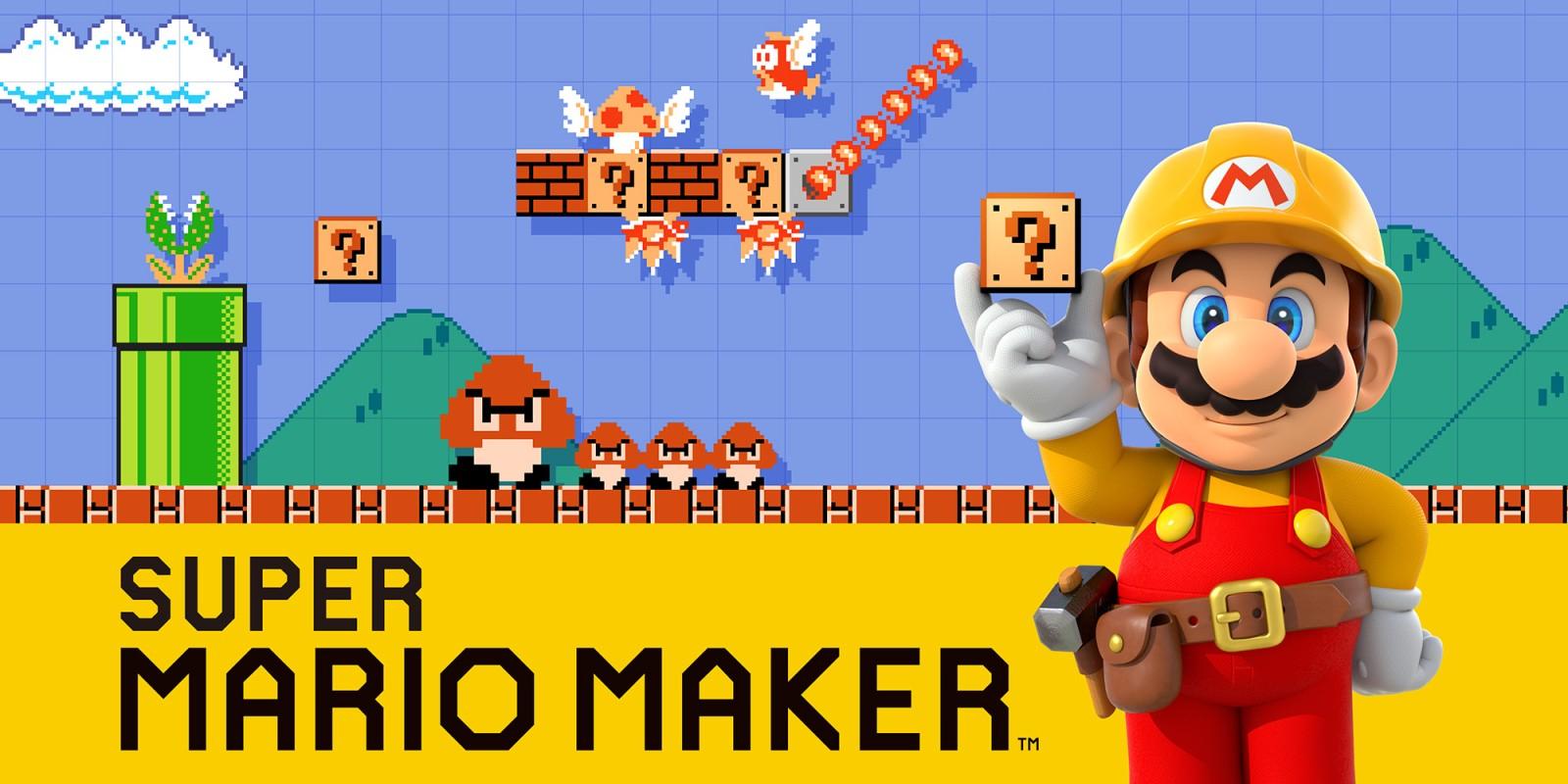 Sélection de jeux en promotion - Ex : sur Wii U : Super Mario Maker à 19.99 € (Dématérialisé)