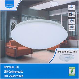 Plafonnier LED White label - Diamètre 28,5cm