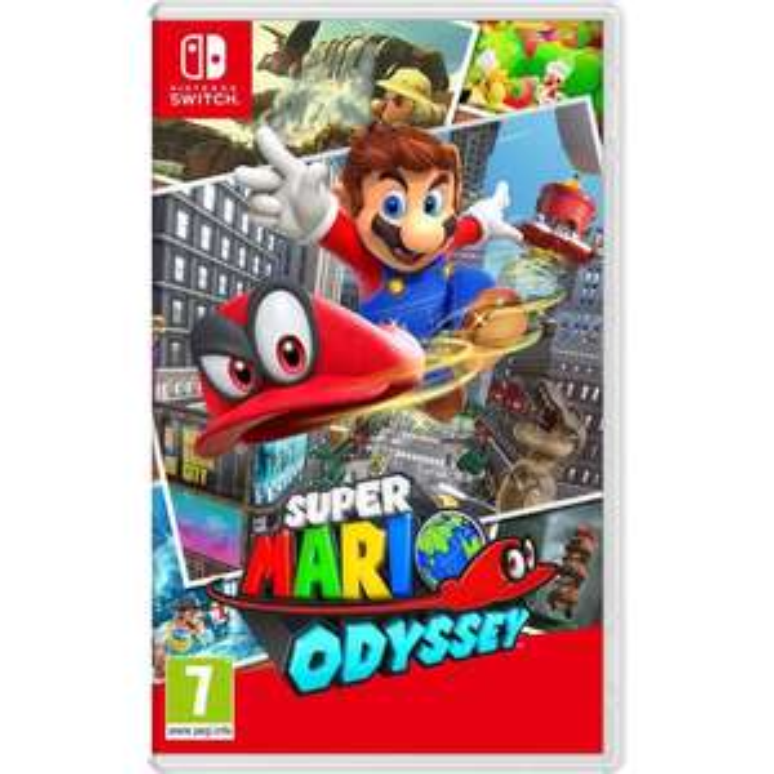 [Cdiscount à volonté] Jeu Super Mario Odyssey sur Nintendo Switch
