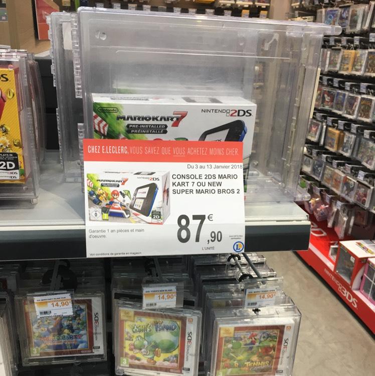 Console Nintendo 2DS + Mario Kart 7 - Gonfreville l'Orcher (76).