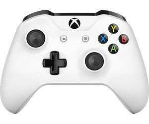 Manette de jeu Microsoft Xbox One - blanc