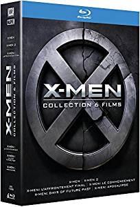 Coffret Blu-ray X-Men - L'intégrale, La Prélogie + La Trilogie (6 films)