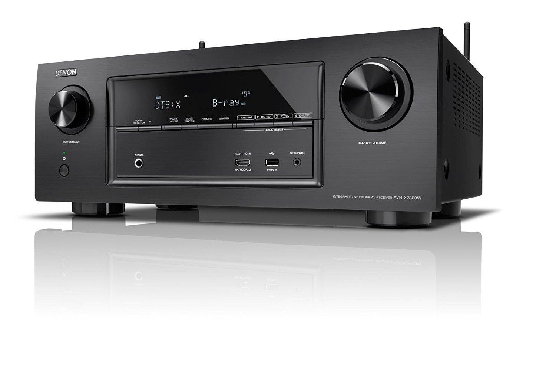 Ampli AV réseau 7.2 Denon AVR-X2300H - Dolby HD, DTS:X, noir