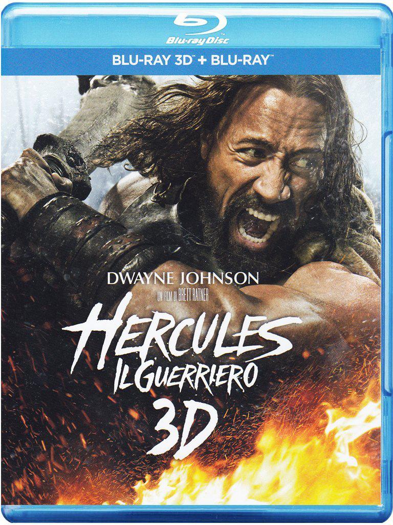 Blu-ray + Blu-ray 3D Hercules