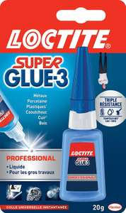 Tube de colle Loctite Super-glue 3 Professionnal - 20g