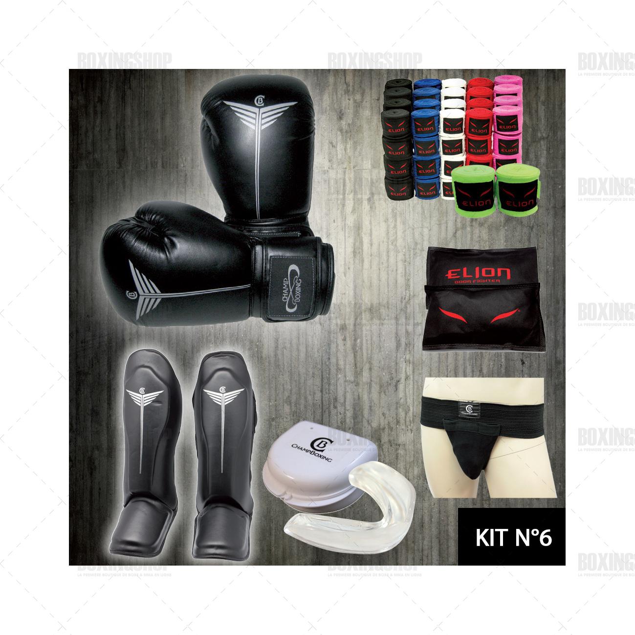 kit de démarrage entrainement Kickboxing, Muay thai