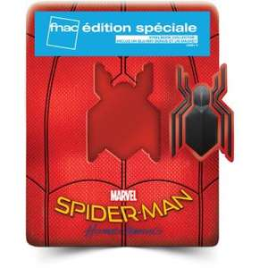 Blu-ray Spider-Man Homecoming Edition Spéciale Fnac Steelbook