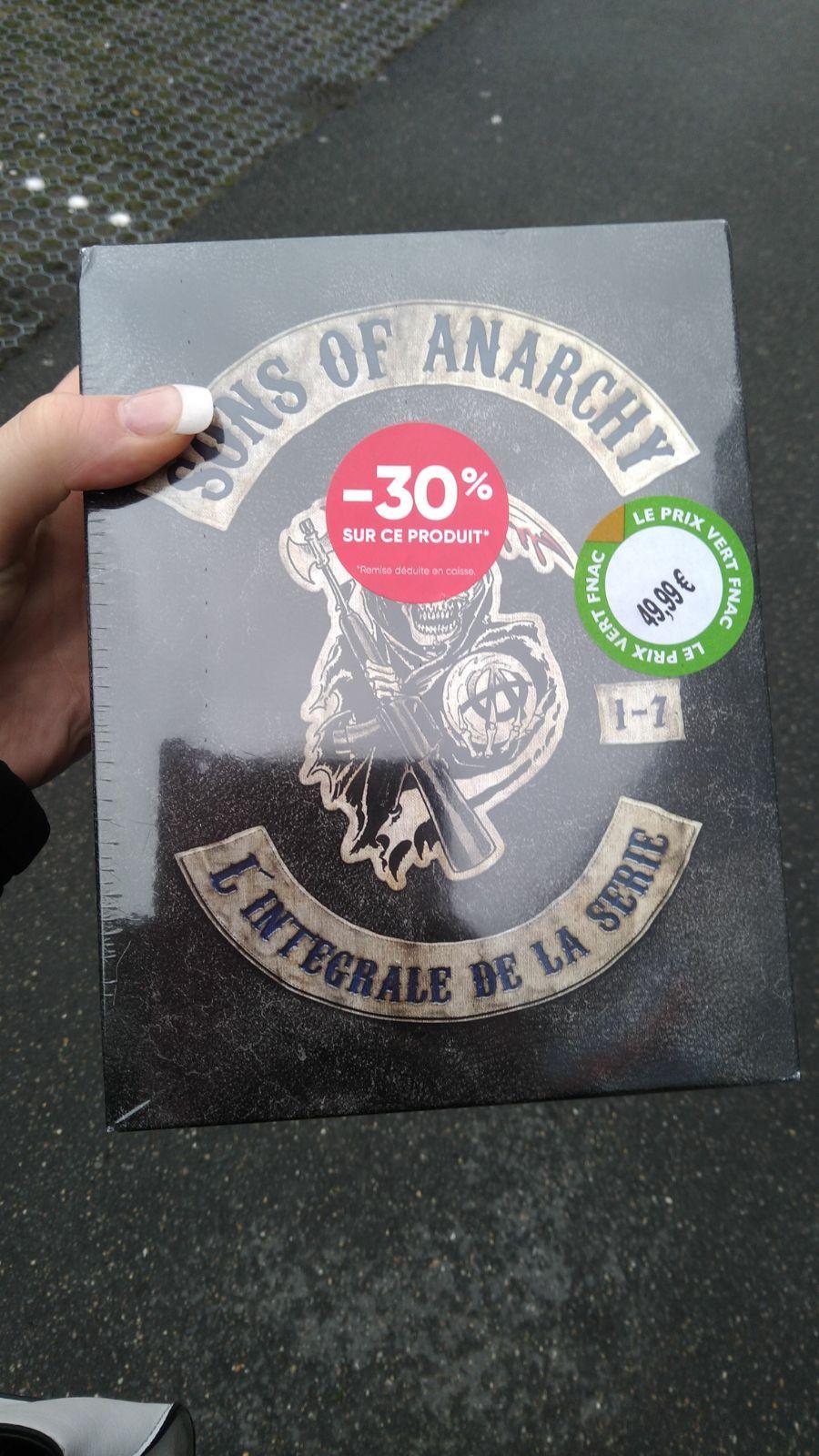 Coffret DVD Intégral Sons Of Anarchy - Geneviève des bois (91)