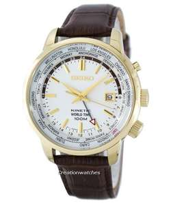 Montre Seiko Kinetic SUN070 monde