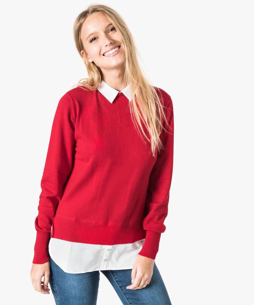 [Clients] 40% de réduction immédiate sur une sélection d'articles - Ex: Pull Rouge pour Femmes (Tailles au choix)