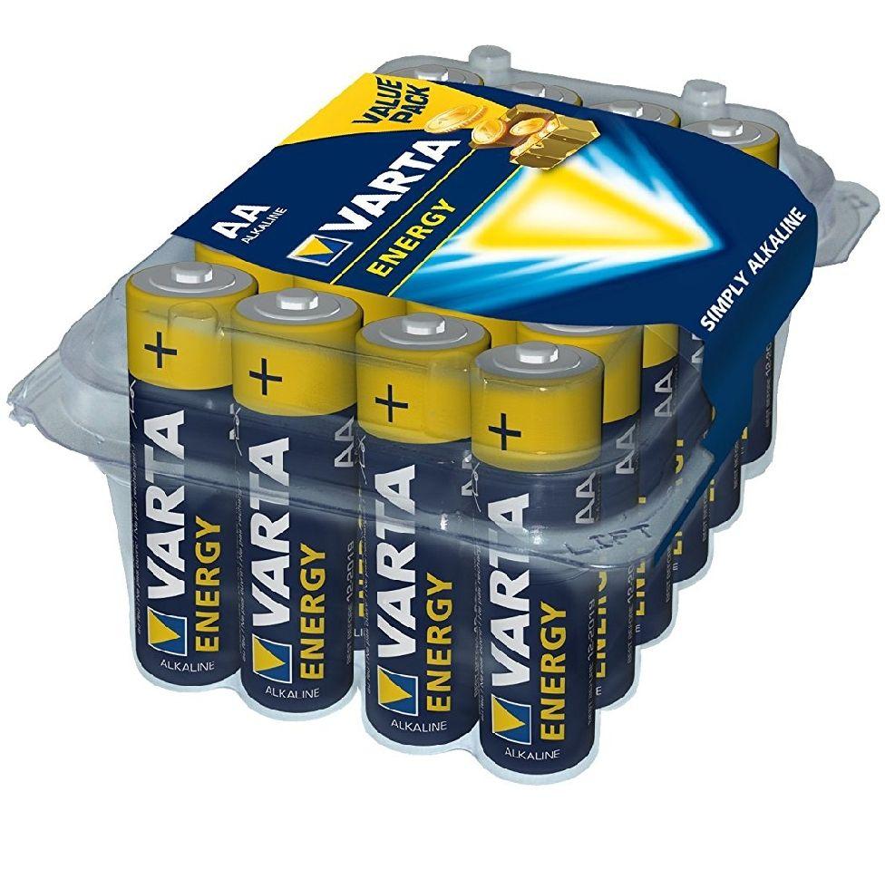 [Panier Plus] 24 piles Varta Energy Mignon - AA