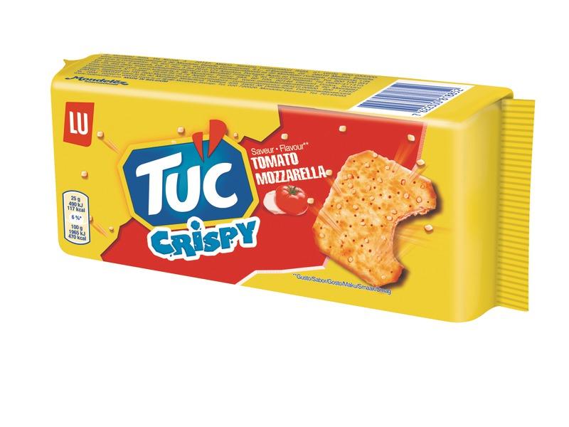 2 paquets de Tuc Crispy Tomate Mozzarella, Sésame ou Créme Oignon (via BDR)