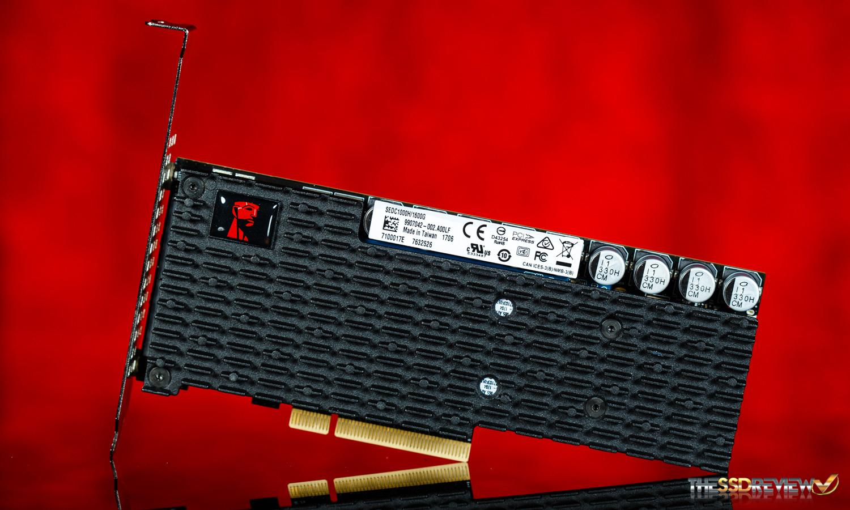 SSD interne PCIe 3.0 NVME Kingston DCP1000 ( MLC, 6000 Mo/s) - 1.6 To