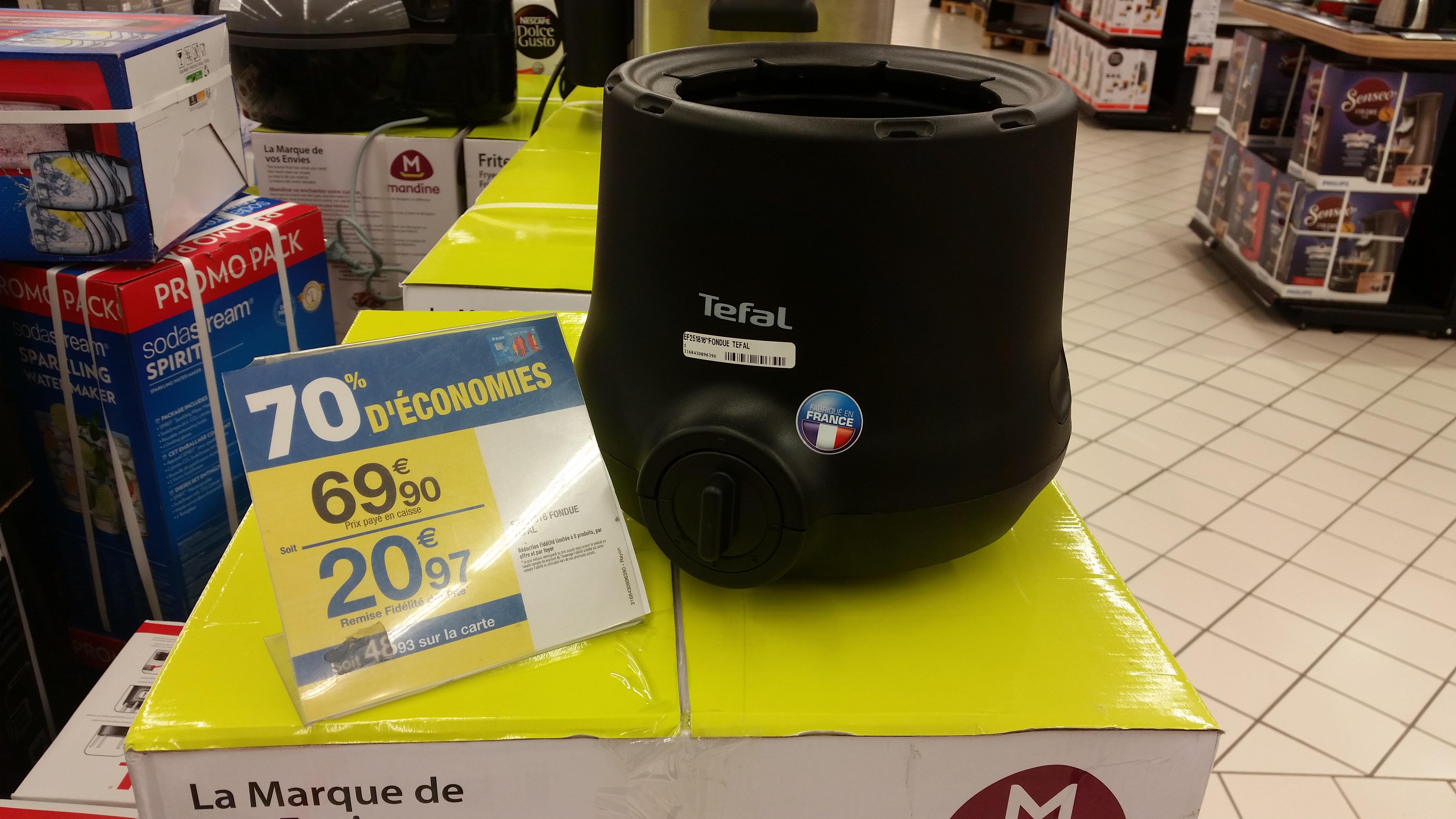 Appareil à fondue Tefal EF251816, 800w - Saint Quentin en Yvelines (78)