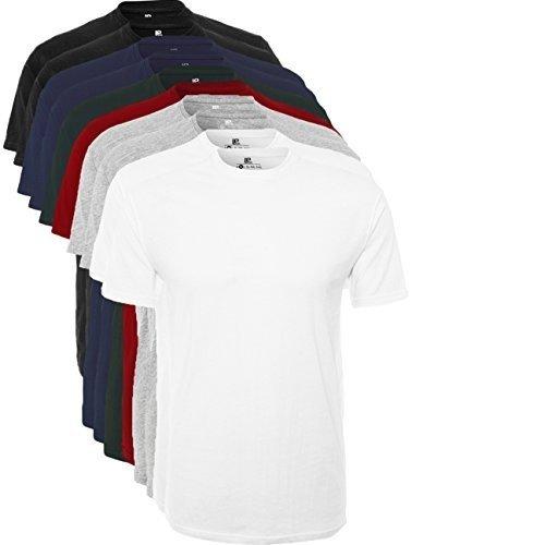 Lot de 10 T-Shirt Homme Lower East Simple, Col Rond à partir de 29,97€