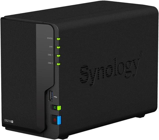 Serveur de stockage Synology DS218+ - sans disque (Frontaliers Suisse)