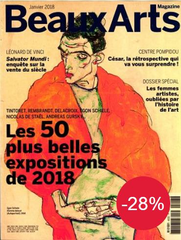 Abonnement d'un an au magazine Beaux Arts