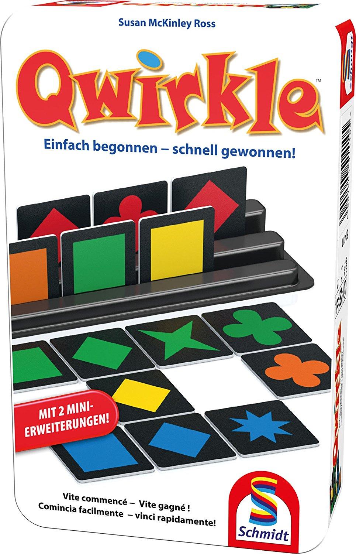 Sélection de jeux de société Schmidt en promotion (version allemande) - Ex : Qwirkle (51410)