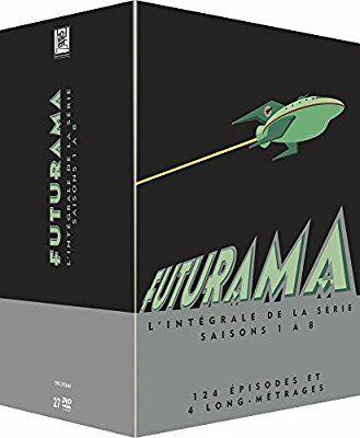 Coffret DVD Futurama - L'Intégrale des Saisons 1 à 8
