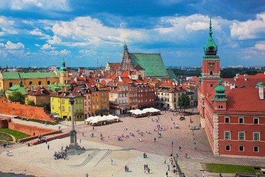 Séjour Varsovie 3 jours / 2 nuits (Vol A/R départ Bruxelles Charleroi)