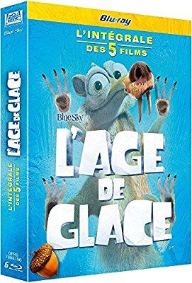 Coffret Blu-ray L' Âge de Glace - L'Intégrale des 5 Films