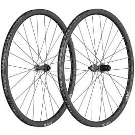 "Paire de roues 27.5"" DT Swiss XMC1200 Spline - en carbone, noir"
