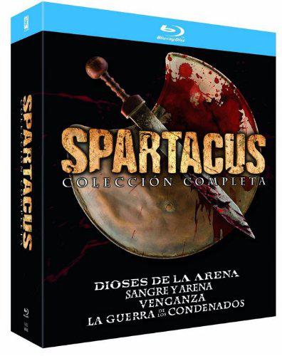Coffret Blu-ray Spartacus - L'intégrale de la série