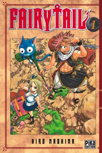 Tous mangas numériques Fairy Tail à 1.99€ (tomes 1 à 60)