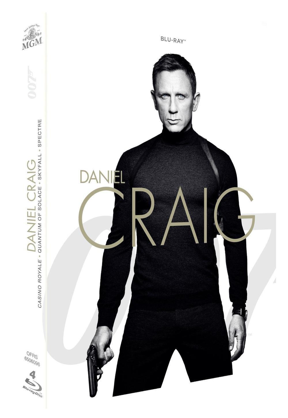 Coffret Blu-ray Daniel Craig - Casino Royale + Quantum of Solace + Skyfall + Spectre