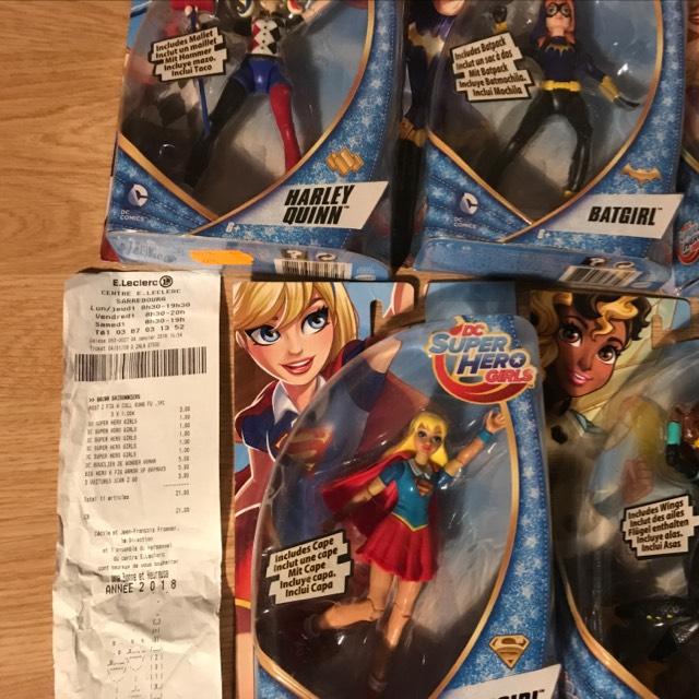 Sélection de jouets en promotion - Ex : figurine DC Super Hero Girls - différents personnages au E.Leclerc Sarrebourg (54)