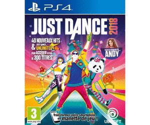 Just Dance 2018 sur PS4 au E.Leclerc Roques-sur-Garonne (31)